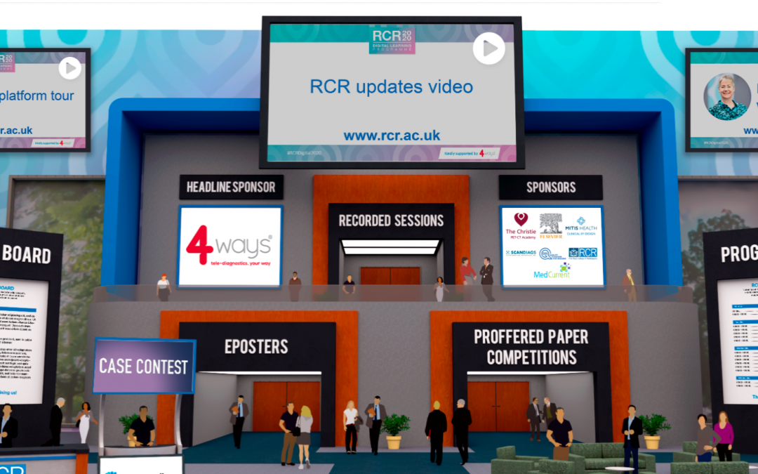 Exhibiting virtually during the COVID19 pandemic